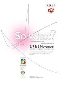 So What Poster