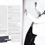 After Miss Julie - Alexis Georgoulis interview p3-4. Madame Figaro. July 2012