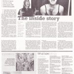 The Vagina Monologues. Athena Xenidou Interview - Sunday Mail. October 2010