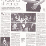 The Vagina Monologues. Cyprus Weekly. August 2010
