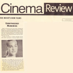 Unwitnessed Memories. Cinema review. Cyprus Weekly. October 2000